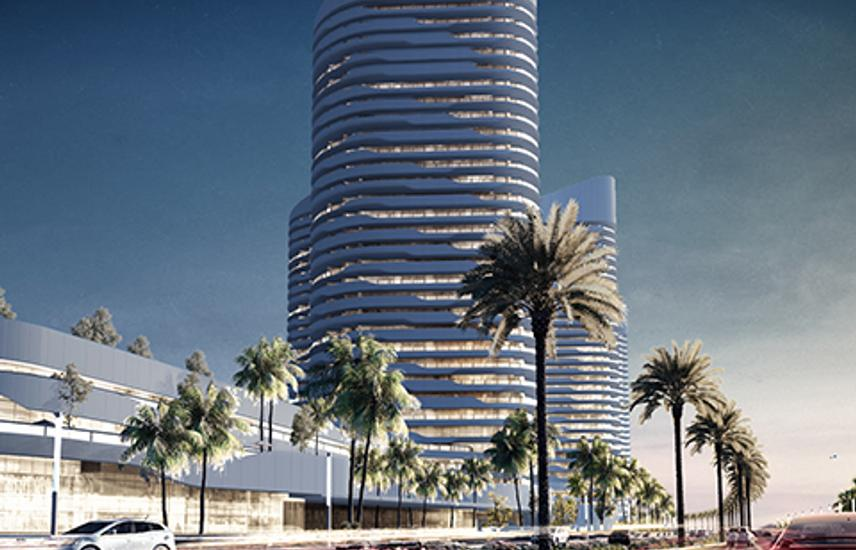 chalet 117 m in north edge towers new Alamein city