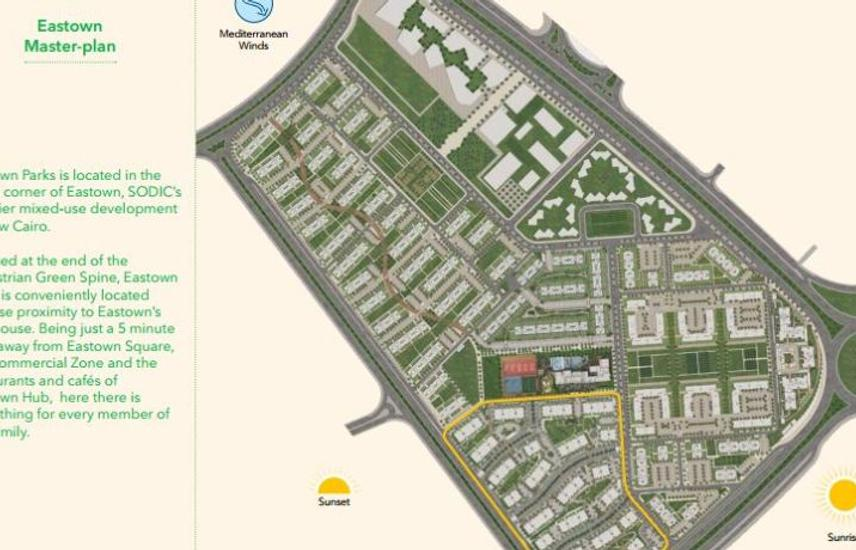 Apartment for sale in|New Cairo|sodic easttown park