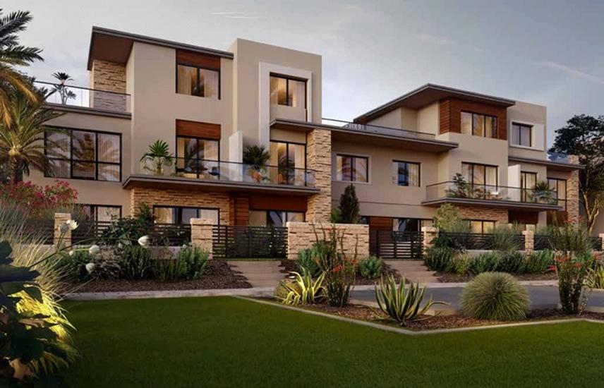 TOWN HOUSE FORSALE IN THE ESTATES SODIC- NEW ZAYED
