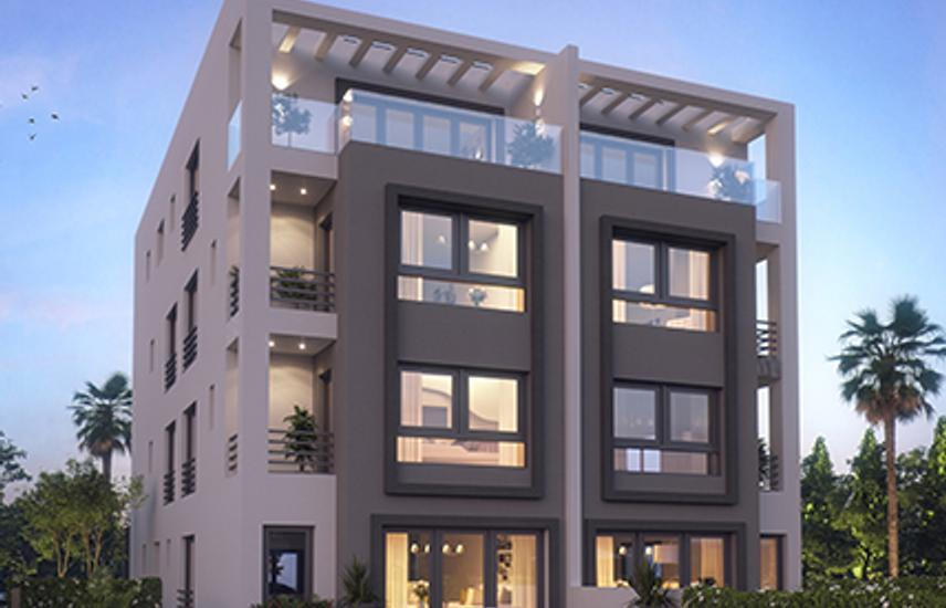 Duplex in New Cairo for sale with installment - Hyde Park