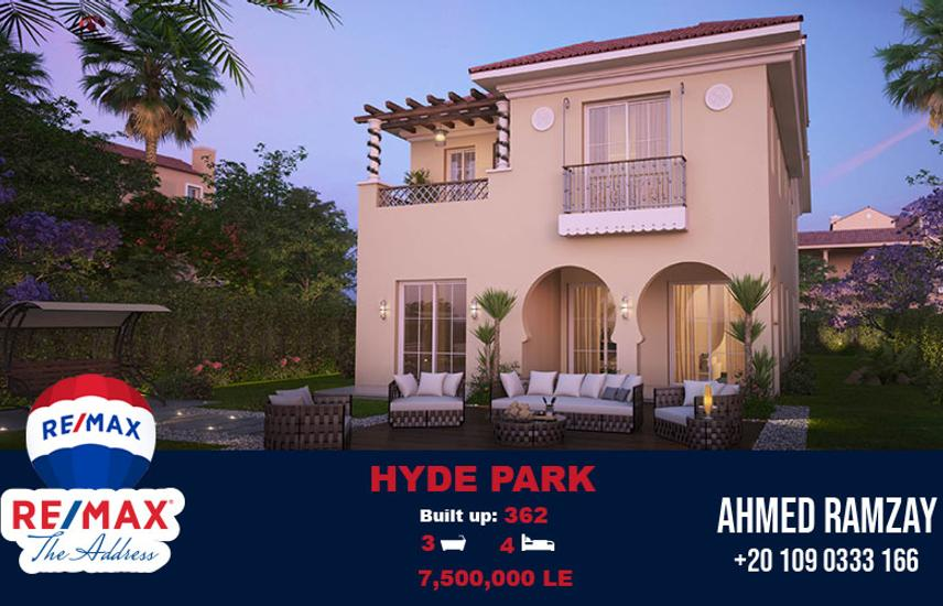Villa For Sale 362 SQM | Hyde Park 5th Settlement