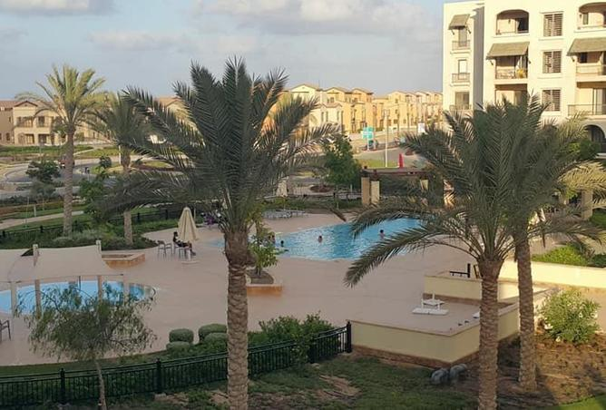 fully furnished with prime location pool view