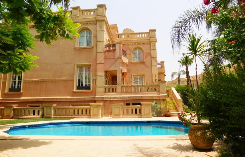 Ultra Lux villa, pool for sale, Katameya Heights