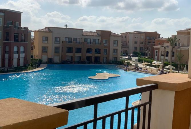 Direct lagoon view penthouse for sale in marassi