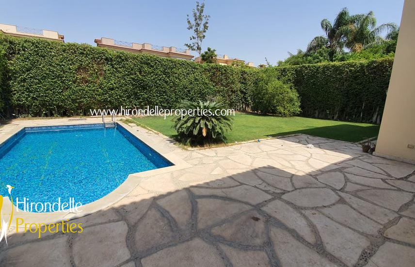 Spectacular Villa For Sale In Katameya Heights