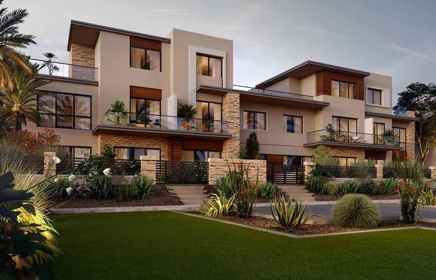 Townhouse Corner 267m With 5% downpayment in The Estates - SODIC