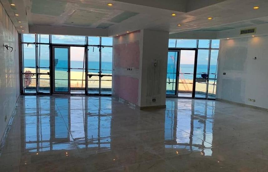 Apartment 114 m in El Alamein Towers sea view .