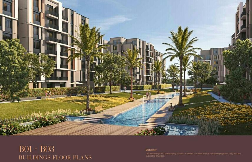 Apartment for sale in Swan Lake Hassan Allam, New Cairo