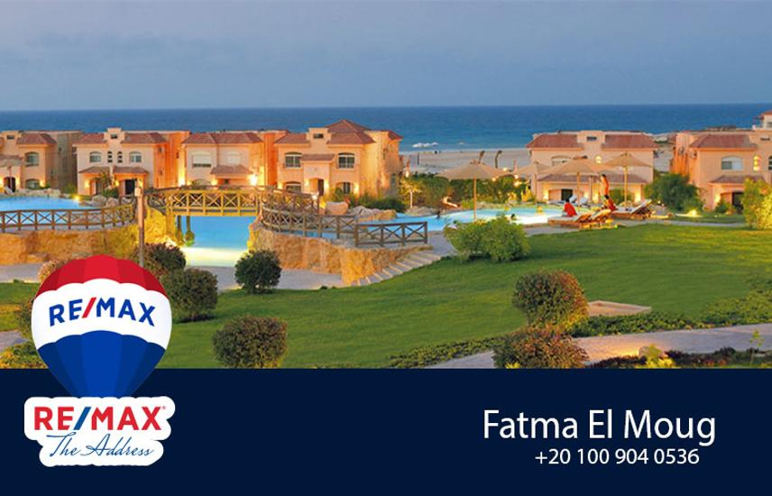 Telal Ain Sokhna Chalet flat for sale Sea view