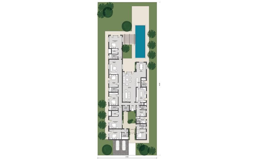 Lowest price V1 Villa 3rd row Caesar Sodic