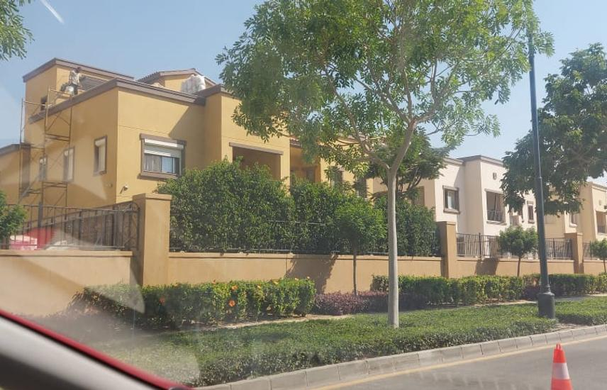Twin house for sale in Mivida luxury finishing