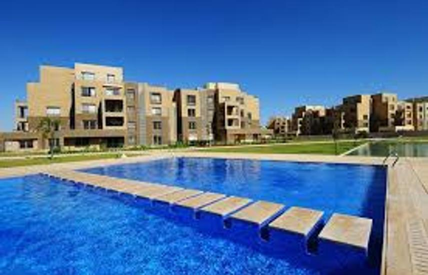 Fully finished apartment for sale in Palm Parks .