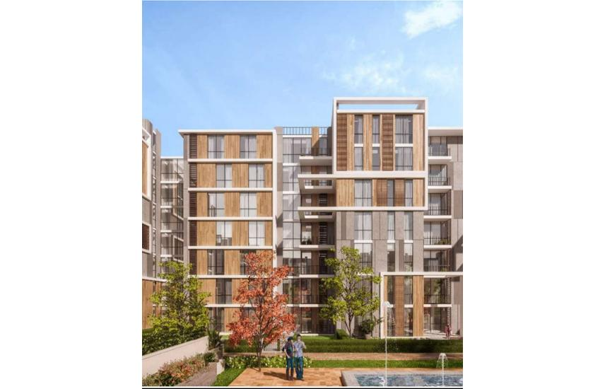 Apartment 168m 3 bedrooms in Hassan Allam Haptown