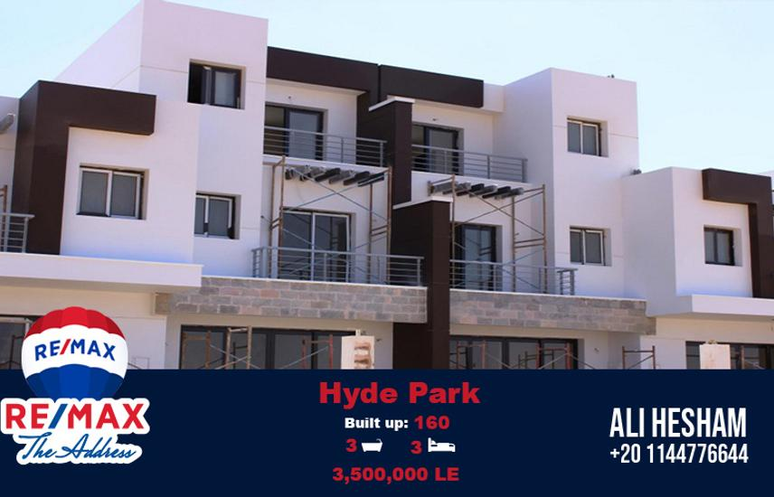 Maisonette 80% Finishing with A/C at Hyde Park