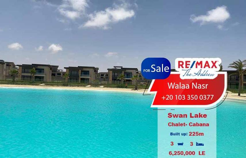 Premium Chalet cabana for sale at swan lake 225M