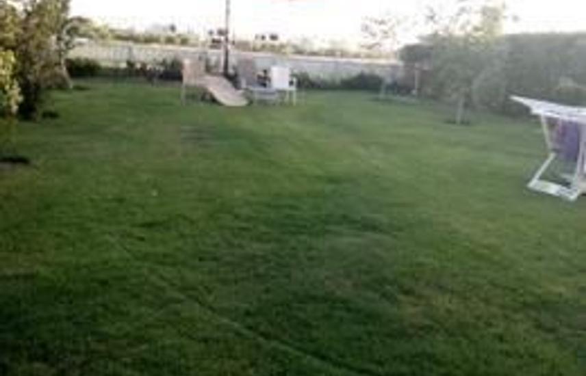 Hacienda bay first row Golf, with garden .