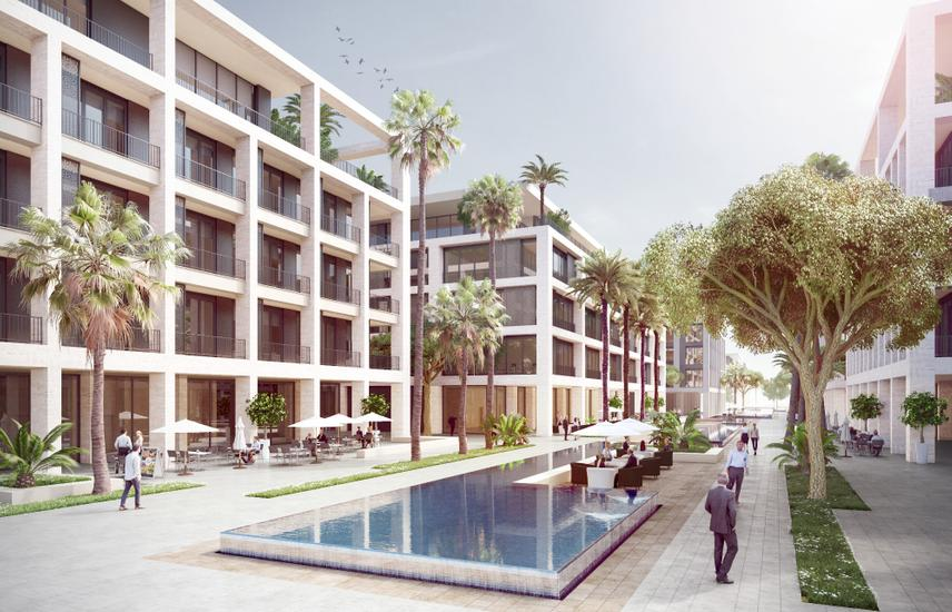 Apartment 177m Bahary Wz Garden View At Al Burouj.