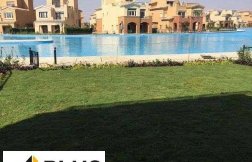 Chalet ground143m. with garden-lagoon view-Marassi