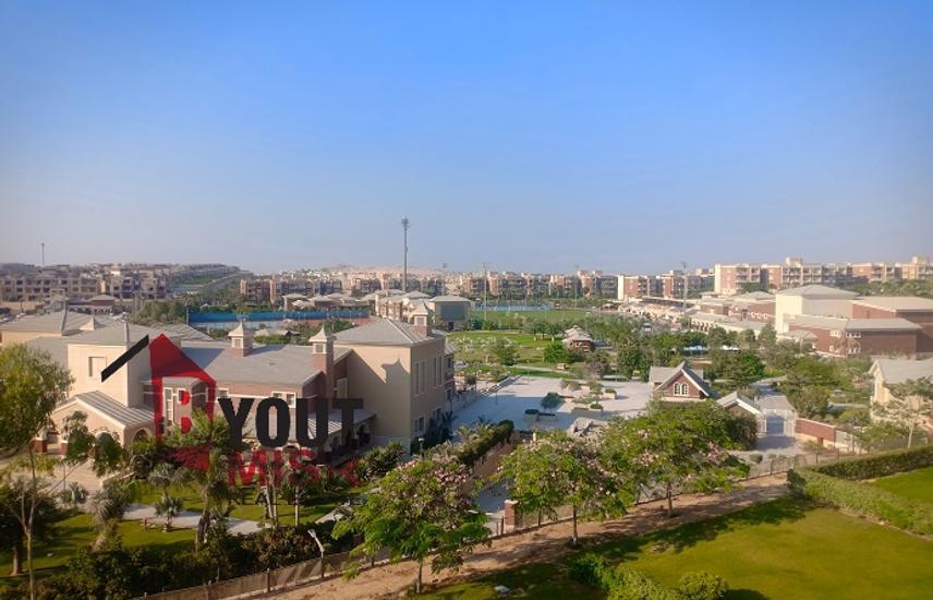 شقة للايجارمفروشة بالكامل بنيو جيزة علي الجولف