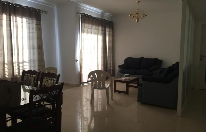 flat for rent at palm Park 153 mtr