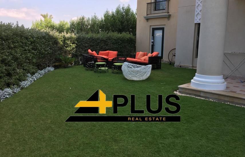 furnished chalet ground with garden 160m. -Marassi