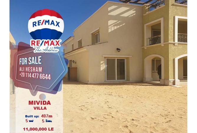 Villa 407 SQM with Swimming Pool Resale at Mivida