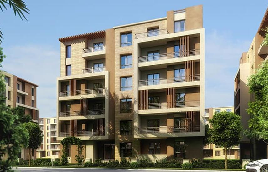 Apartment 191 m for sale in Taj city in New cairo