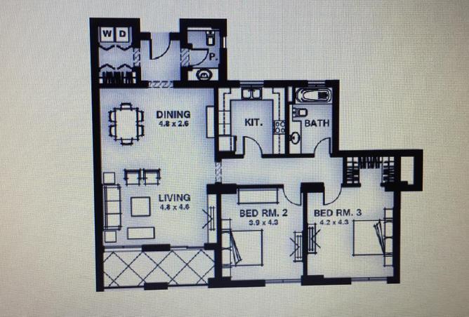 Ground Floor Apartment 168m in mivida Boulevard