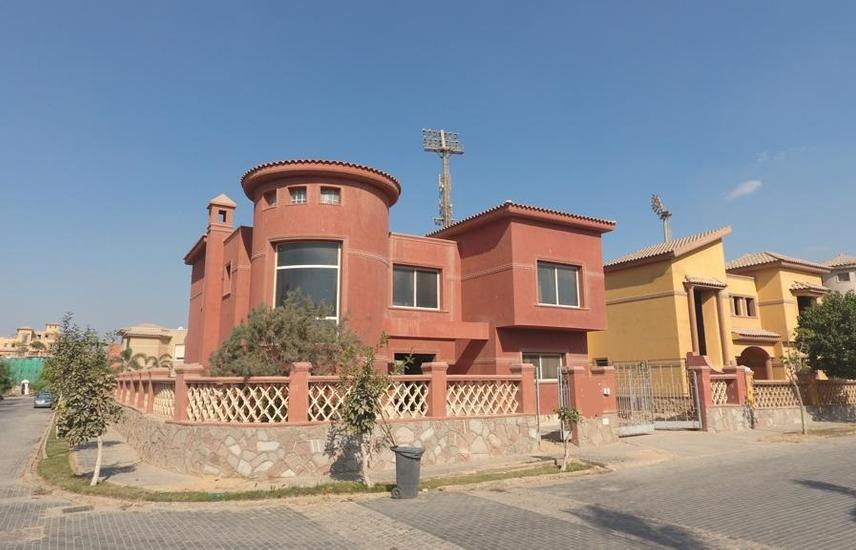 Stand alone villa landscape view in Palm Hills – 6 October city - Flash property